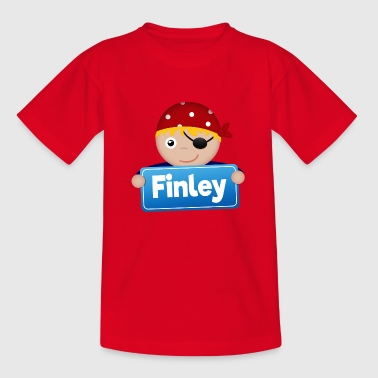 Lite Pirate Finley - T-skjorte for barn