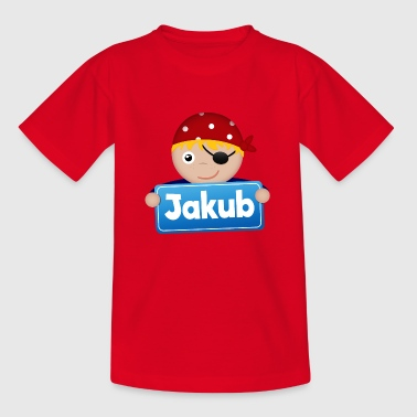 Little Pirate Jakub - Kids' T-Shirt