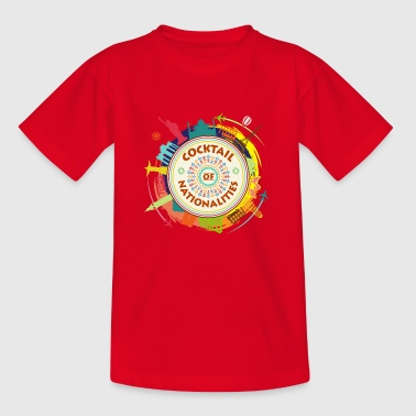 Cocktail of Nationalities - T-shirt Enfant