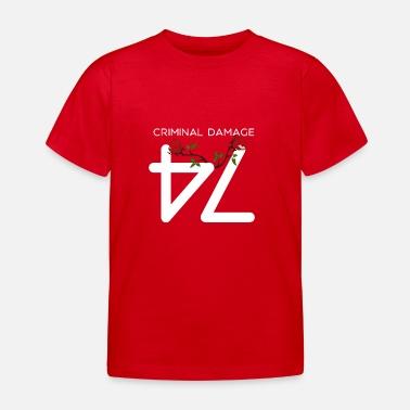 Criminal Daño criminal Gángster - regalo - Camiseta niño 693df1e95f38e