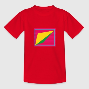 Retro Form - Kinder T-Shirt