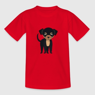 Black Dog Black Dog Puppy Dog - Kids' T-Shirt