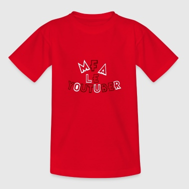 MFA THE YOUTUBER - Kids' T-Shirt