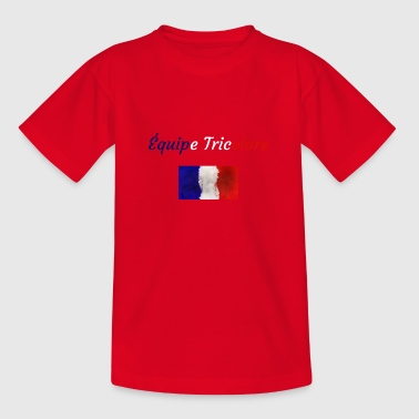 Equipe Tricolor - Kids' T-Shirt