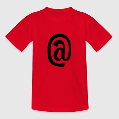 @, Internet, www - Kinder T-Shirt