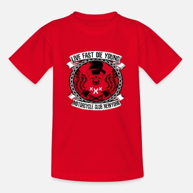 Motorcycle Club - Kids' T-Shirt