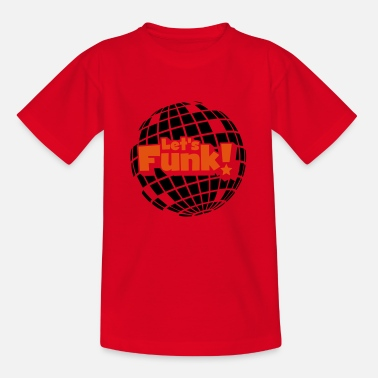 Blaxploitation Discoball - Kids' T-Shirt