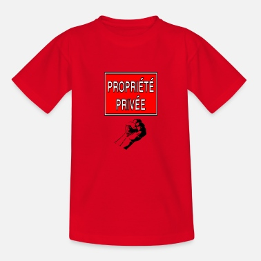 Privateer private property - Kids' T-Shirt