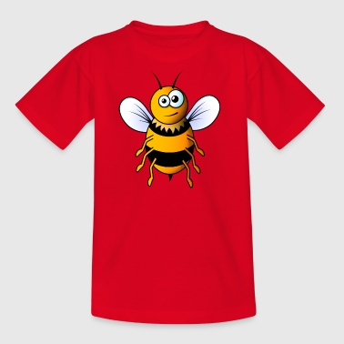 Cartoon bee - Kids' T-Shirt