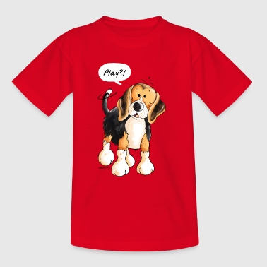 Kleiner Beagle - Hund - Dog - Comic - Kinder T-Shirt