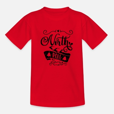 North Yorkshire North Pole - Kids' T-Shirt