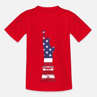 Lady Liberty Lady Liberty USA - Kinder T-Shirt
