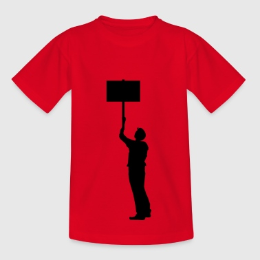 protester - Kids' T-Shirt