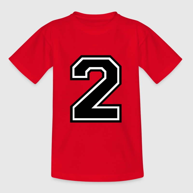Number 2 Two - Kids' T-Shirt