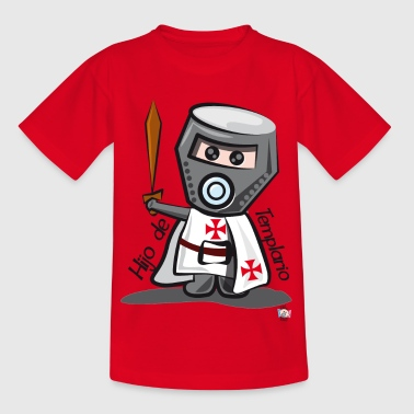 Son Templar (Casco) - Kids' T-Shirt