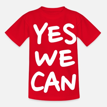 Yes We Can Yes we can - Kinder T-Shirt