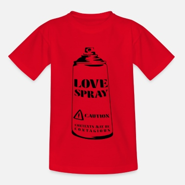 Love spray can - Kids' T-Shirt