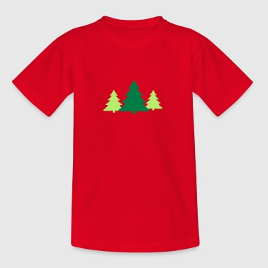 Christbaum, Gruppe - Kinder T-Shirt