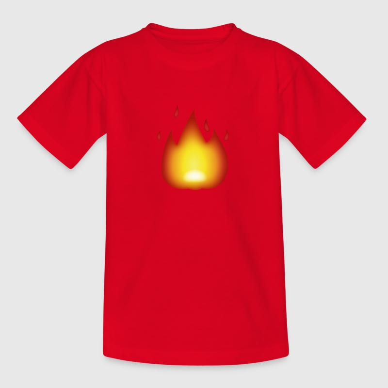 LIT emoji - Kids' T-Shirt