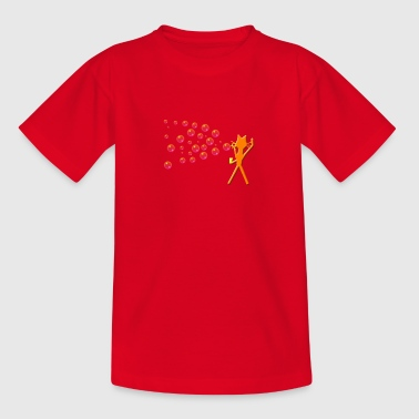 kittycat_bubbels2 - Kinderen T-shirt