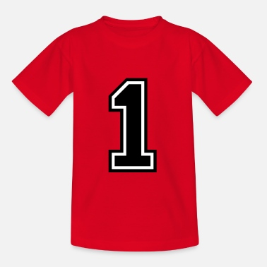 Number 1 Number 1 One - Kids' T-Shirt