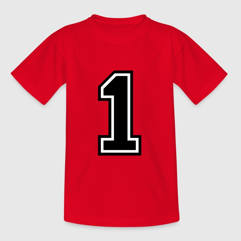 Number 1 One - Kids' T-Shirt