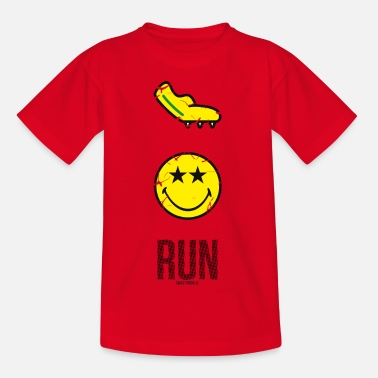 Course À Pied SmileyWorld RUN - T-shirt Enfant