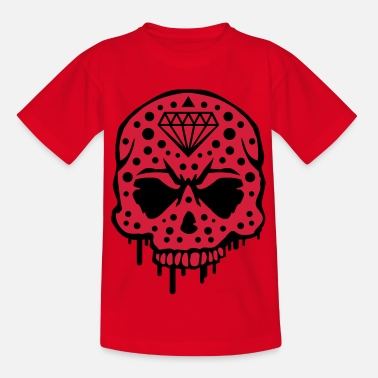 Gángster skull_diamond_graffiti_ce2 - Camiseta niño
