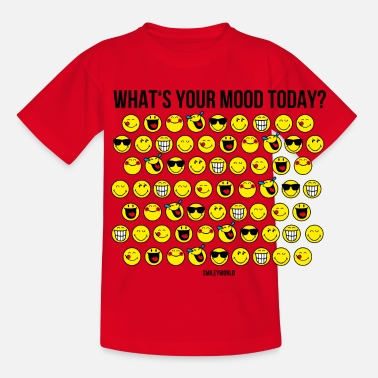 SmileyWorld What's Your Mood Today? - T-shirt Enfant