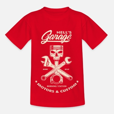 Hell's Garage - Used Version - Kids' T-Shirt