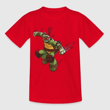 TMNT Turtles Raphael Ready For Action - Kids' T-Shirt