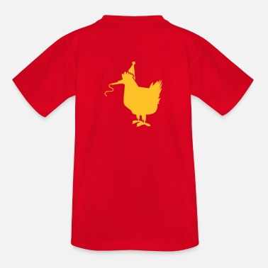 Whistle party whistle hen chook chickens - Kids' T-Shirt
