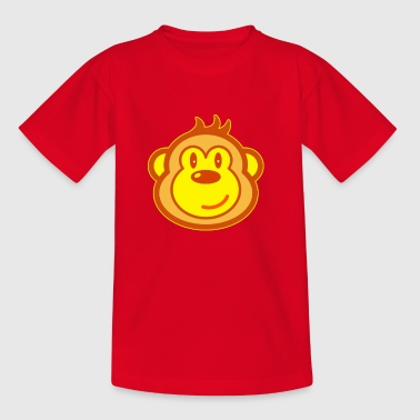 Cute monkey - Kids' T-Shirt