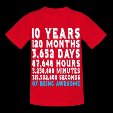 Birthday 10 years - 10th Birthday - Kids' T-Shirt