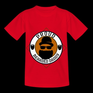 Fier papa barbu - T-shirt Enfant