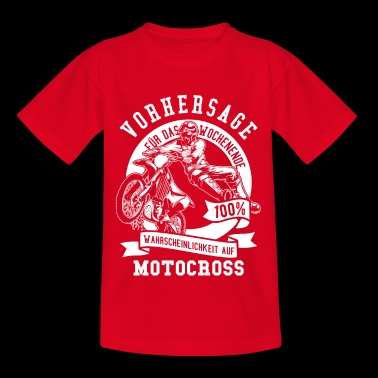 Motocross Shirt · Enduro Sport · Prediction Week - Kids' T-Shirt