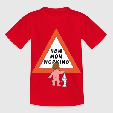 Nouvelle maman Modification Diapers - T-shirt Enfant