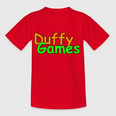 Duffygames in Farbe. - Kinder T-Shirt