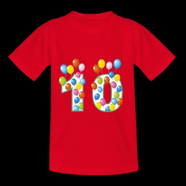 10th birthday 10 - Kids' T-Shirt