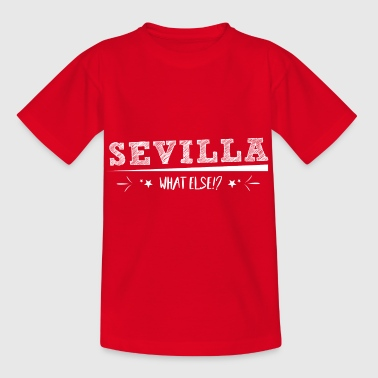 City! Love! Seville! Proud! - Kids' T-Shirt