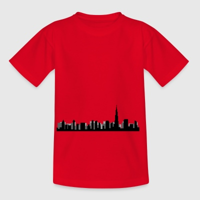 dubai skyline - Kids' T-Shirt