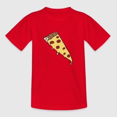 pizza slice drawing - Kids' T-Shirt