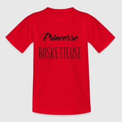 Princess basketteuse - Kids' T-Shirt