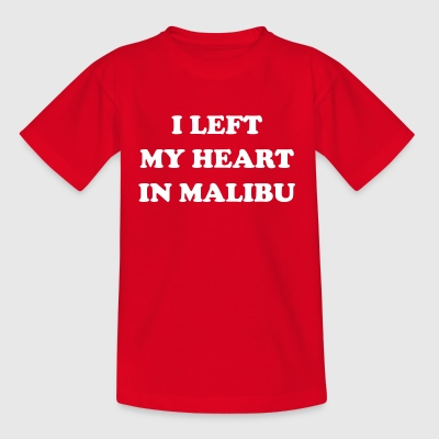 I Left My Heart In Malibu - T-shirt Enfant