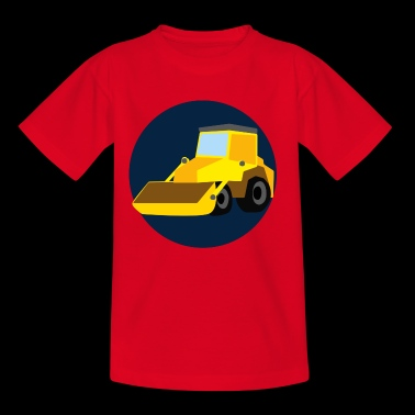 Kid's Wheel Loader Emblem - Kids' T-Shirt