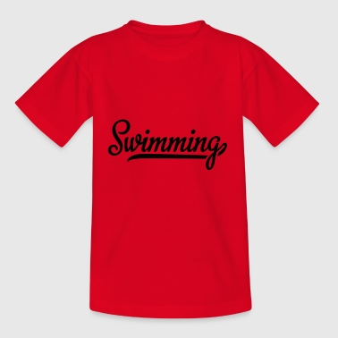 2541614 115641708 swimming - Kinder T-Shirt