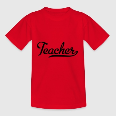 2541614 115350384 teacher - Kinder T-Shirt