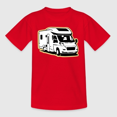 Camper Wohnmobil (3 color) - T-shirt Enfant