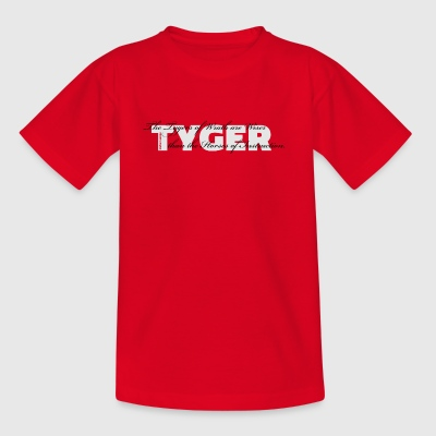 De Tygers of Wrath ... - Kinderen T-shirt