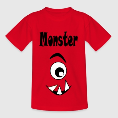 monsters b - Kids' T-Shirt